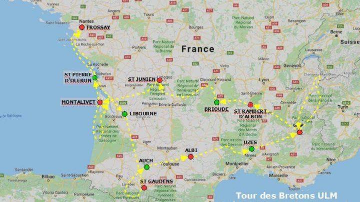Passage du Tour des Bretons à St Junien