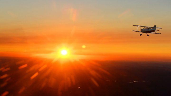 Vol à l'aube Août 2018