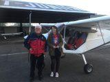 "Jeune pilote … avec un grand ""E"""