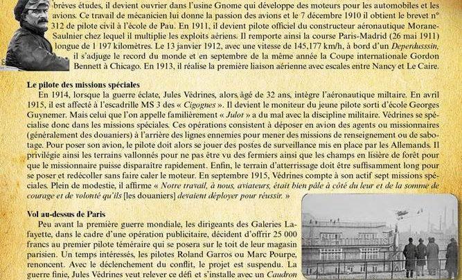 Incroyable exploit ! : 19 janvier 1919, Jules Védrines se pose sur les Galeries La Fayette à Paris