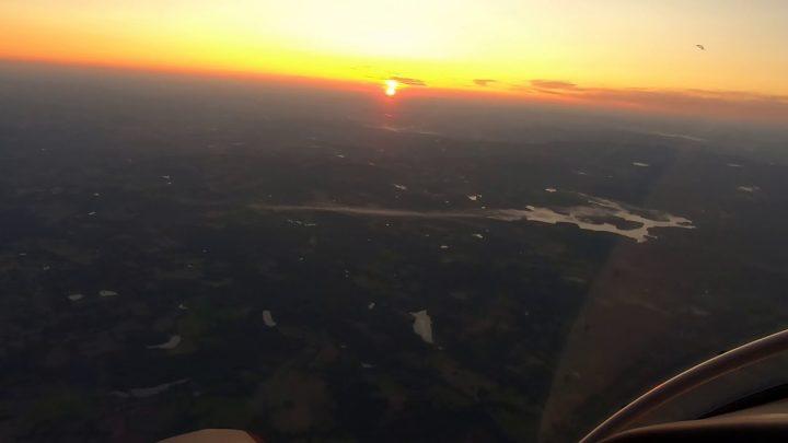 Vol à l'aube Août 2019