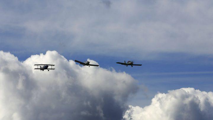 Démonstration vol en patrouille des Gantiers (Photos et Vidéo 360°)