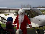 Le Père Noël est passé à l'aérodrome de St Junien