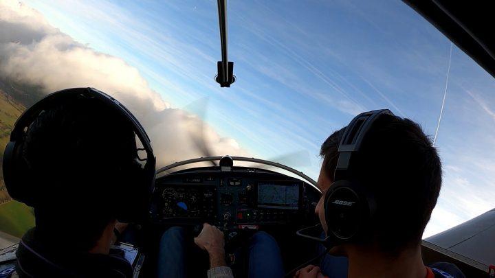 LFBJ > LFBU : premier vol 2020 de Julien, Damien et Ludovic