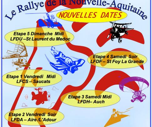 Le Rallye de la nouvelle Aquitaine