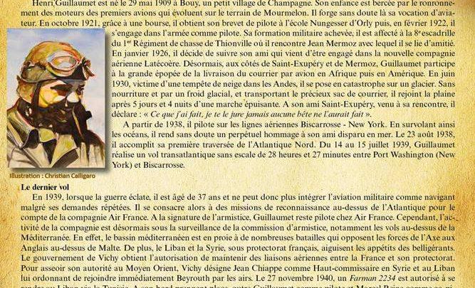 27 novembre 1940, Henri Guillaumet nous quitte
